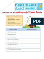 Planteo-de-Ecuaciones-de-Primer-Grado-para-Cuarto-de-Primaria