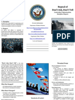 U.S. Navy DADT Repeal Pamplet