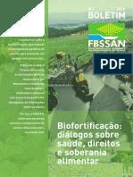 Biofortificacao- Dialogos Sobre Saude Direitos e Soberania Alimentar