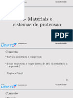 AULA 04 - Materiais e Sistemas de Protensão