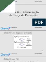 AULA 06 - Determinação da Força de Protensão(1)