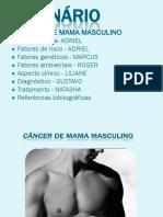 Seminário cancêr de mama masculino