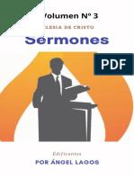 Sermones edificantes Volumen Nº3