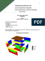 Projeto Arquitetonico - Trabalho de Aula - Setorizacao