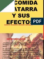 LA COMIDA CHATARRA Y SUS EFECTOS