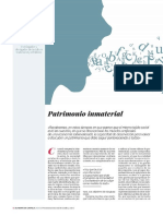 """Patrimonio Inmaterial"" (Joaquín Díaz)"