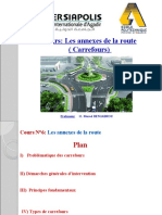 Cours n° 6 CARREFOURS