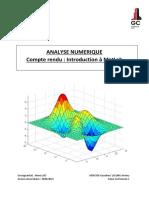 Cr 1 Analyse Numérique Mercier Lelong Gc1