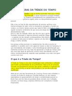 AS ESFERAS DA TRÍADE DO TEMPO