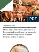 Conquista de Chile Historia quinto
