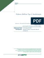 Diabetes Mellitus Tipo 2 Insulinizacao