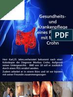 Gesundheits- und Krankenpflege eines Patienten mit Morbus Crohn