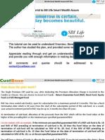 Sbilife Smart Wealth Assure