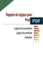 Rappels de Log i Que Pour Pro Log