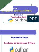 5- Les Types de Données en Python - Yassine Ben Salah
