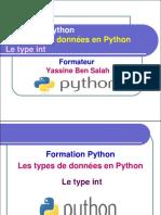 6- Le Type Int en Python - Yassine Ben Salah