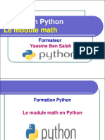 12- Le Module Math en Python - Yassine Ben Salah