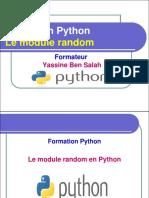 13- Le Module Random en Python - Yassine Ben Salah