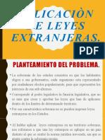 5. Aplicaciòn de Leyes Extranjeras (1)