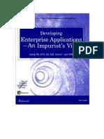 Developing Enterprise Applications