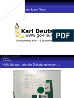 Disaster Recovery mit Linux Tools (16. November 2006)
