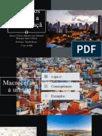 Conceitos ligados a Urbanização - 2020
