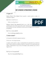 Active Voice x Passive Voice