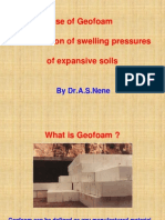 Geofoam for Swelling Soils