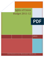 Budget Note 2011-12