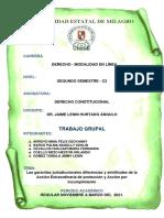 TAREA_Diferencias y similitudes de la Acción Extraordinaria de protección y Acción por incumplimiento