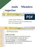 Amputado Miembro Superior - R1 AAV- HAVCP