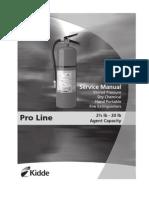 Pro line Service Manual