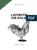 CONTO LAMENTO DO GALO - CARLOS BENEVIDE -LER E ANALISAR