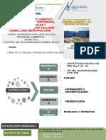 U III C CAMBIO CLIMÁTICO Y RIESGOS NATURALES Y ANTROPOGENICOS  CASO QUEBRADA COLLIQUE _ COMAS – 20_10_ 2020