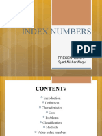 PPT for Index Numbers