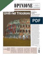 SPECIALE 150° UNITA' D'ITALIA copertina - L'opinione