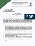 Surat Edaran Sekretariat Jenderal Tentang Pelaksanaan Pemeriksaan Kesehatan Bagi PNS Di Lingkungan Kemenkes 28042021