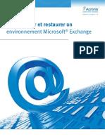 Livre Blanc Sauvegarde Exchange