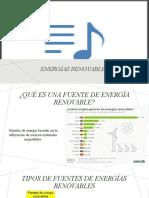FUENTES DE ENERGÍA RENOVABLES _