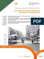 Cerema Fiche 2 - Tramway et traversées piétonnes 2015