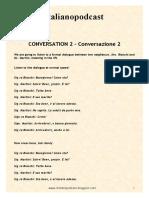 CONVERSAZIONE 2