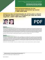 Ibracon - Recomendações Cálice nbr9062-2006