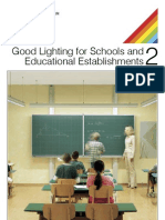 Good Lighting for Schools and Educational Establishments