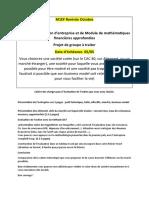 Cahier Des Charges Pour Projet Évaluation M1 Rentrée Octobre