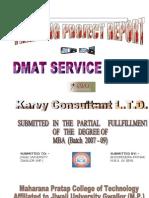 karvyprojectreport-100722032417-phpapp02