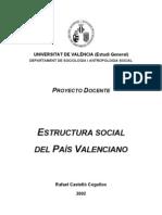 Castelló, Rafael - Estructura Social del País Valencià
