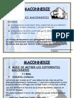 4- M Tr Maconnerie