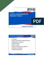 Capítulo I - Introdução ao desenho tecnico-FTC