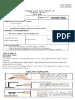 Guía Evaluada Ciencias y Fuerzas Eléctricas
