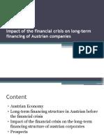 Long-term financing